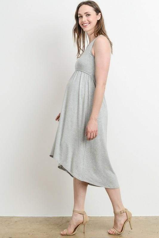 """Ellie"" Maternity/Nursing Easy Dress - DRESSES - Affordable Boutique Fashion"