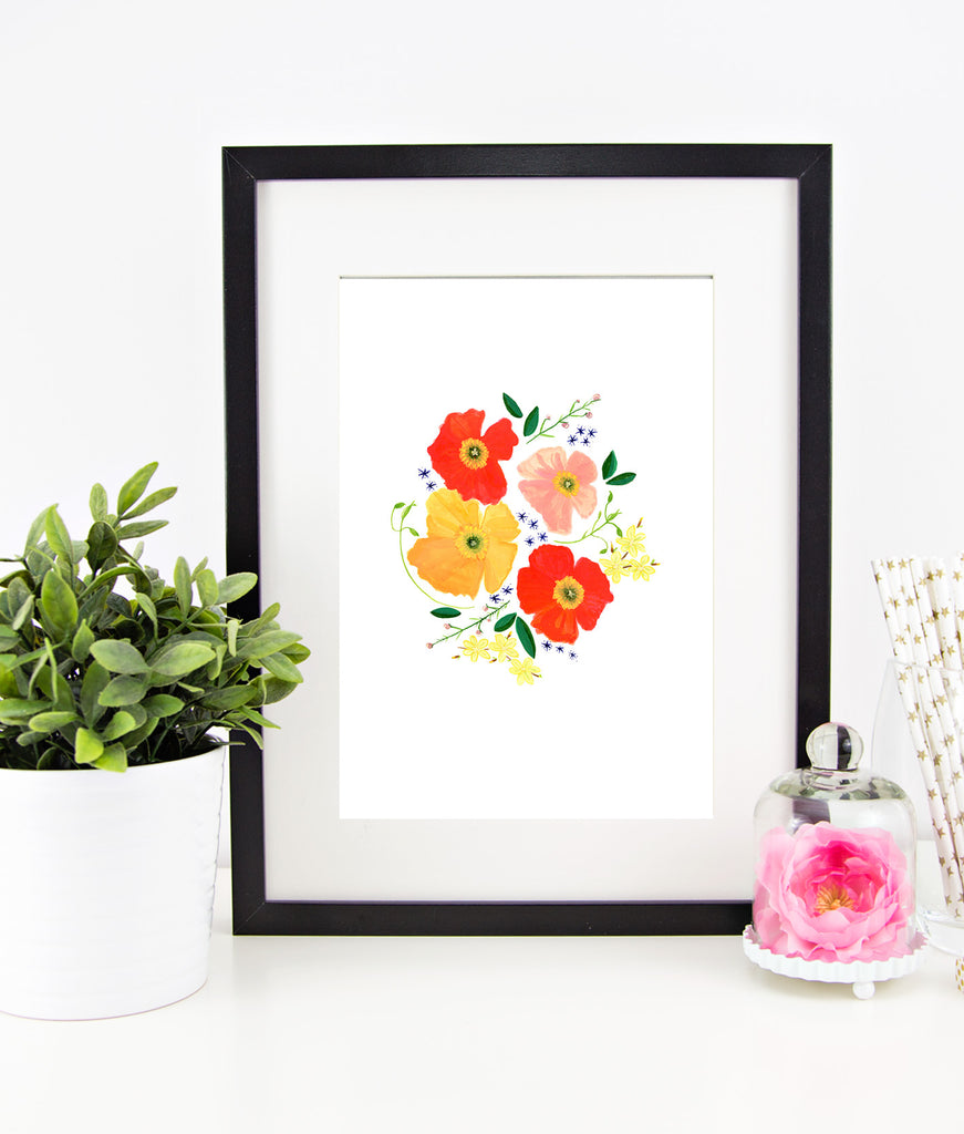 """Flower Child"" Instant Download Print"