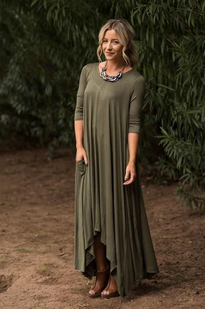 SWING MAXI - Olive