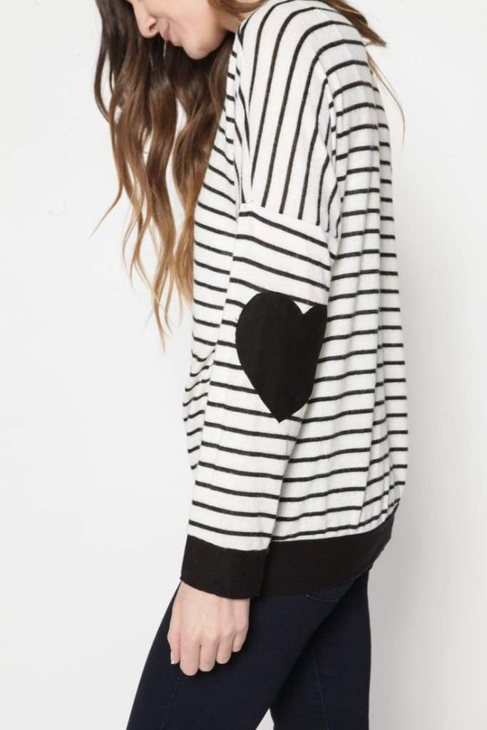 Heartland Striped Knit - Tops - Affordable Boutique Fashion