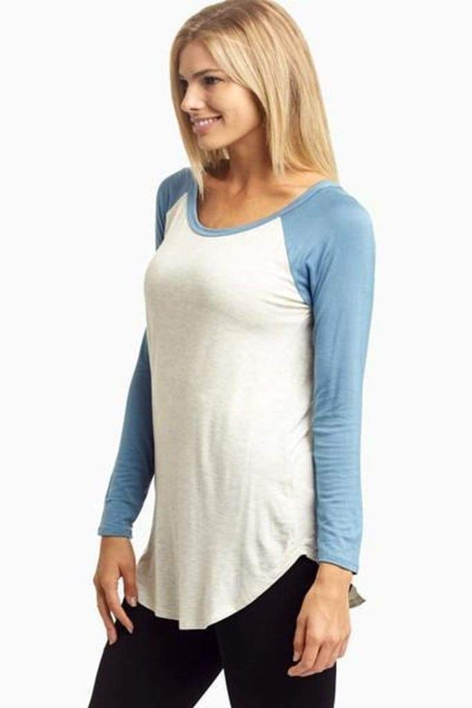 Jeter Tee [Additional Colors] - Tops - Affordable Boutique Fashion