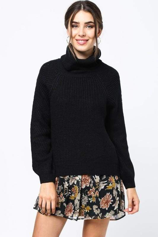 Lofty Goals Knit Sweater - SWEATERS - Affordable Boutique Fashion