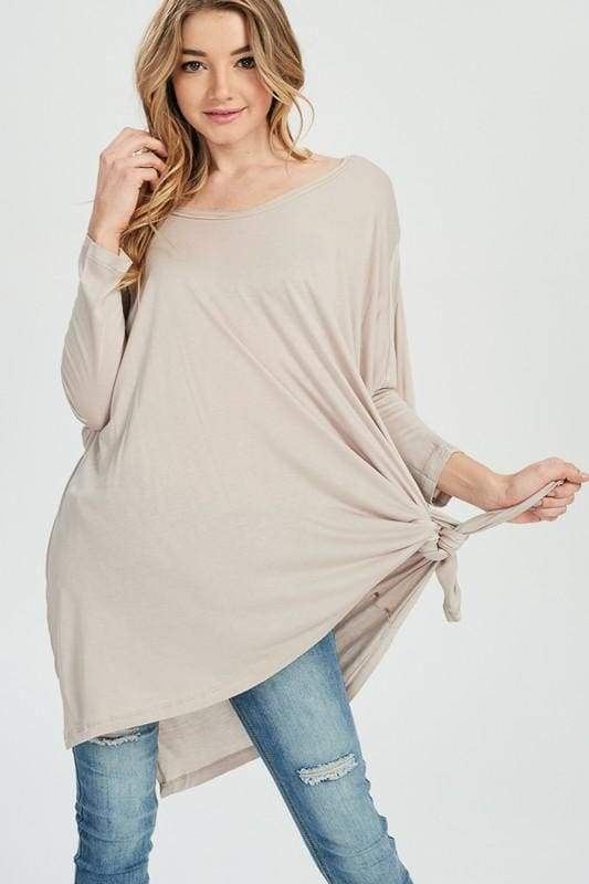 Lumi Weekday Comfort Tunic // MORE COLORS - SWEATER - Affordable Boutique Fashion