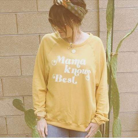 """Mama Knows Best"" Pullover - SHIPS 12/10 - Tops - Affordable Boutique Fashion"