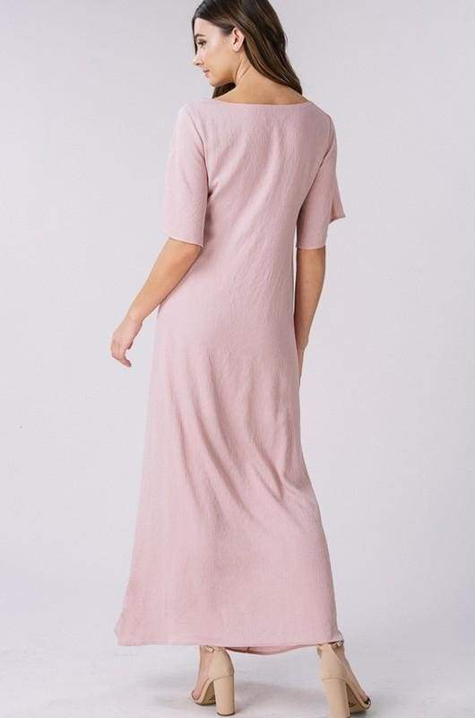 Merry Maids Blush Dress - Dresses - Affordable Boutique Fashion