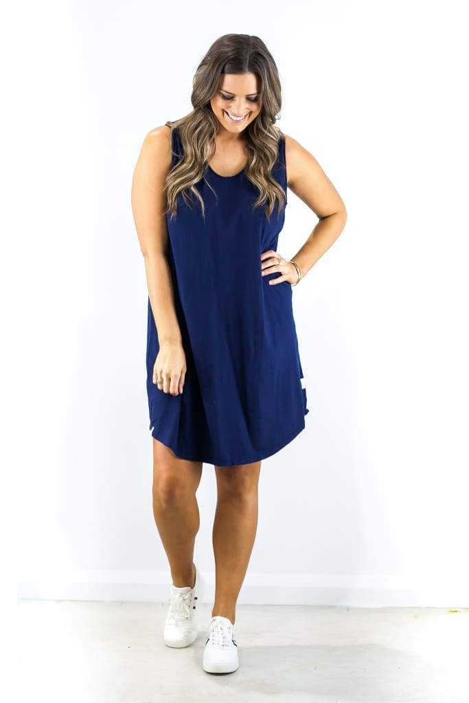 Nashville Essential Tank Dress - DRESSES - Affordable Boutique Fashion