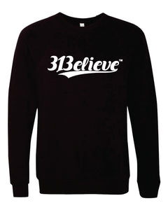 313elieve Crew Neck Sweater Sweatshirt