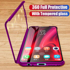 Full Protective Phone Case For Xiaomi Redmi Note 360
