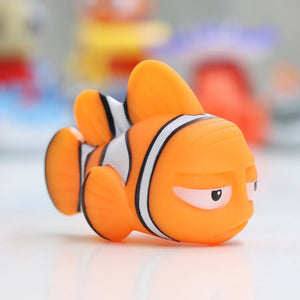 Baby Bath Toys for Kids - Funny Animals with Soft Rubber Water Squeeze Toys