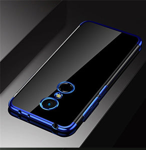 For Xiaomi Redmi 5 Plus Case Cover Transparent Fundas Soft TPU Slim Back Cover For Xiao Mi Redmi 5A 5Plus Case Phone Coque
