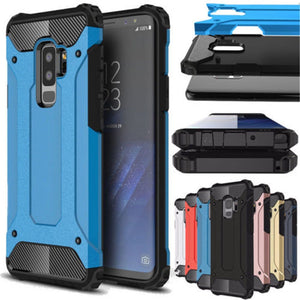 Rugged Armor Case For Samsung Galaxy S8 S9 Plus S5 S6 S7 Edge S10E S10 5G Note 10 4 5 8 9 A6 A7 A8 2018 Hard PC Shockproof Case