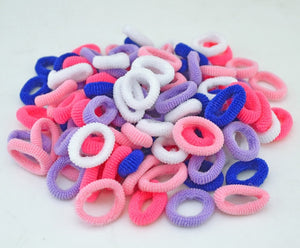 Kids Cute Colorful Elastics Rubber Hair Band