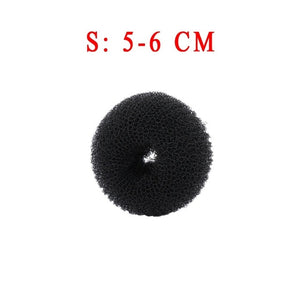 Women's Fashion Magic Shaper Donut Hair Ring Accessories