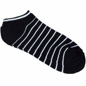 MUQGEW Hot Sale Comfortable 1Pair Unisex Comfortable Stripe Cotton Sock Slippers Short Ankle Socks New Arrival Breathable Soxs
