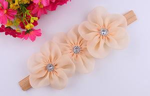 Classic Ribbon Pearl Diamond Hairband for Kids