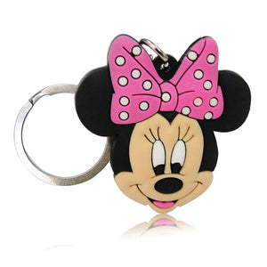 Mickey Cartoon Key Chain Mini Anime Figure
