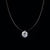 Poputton Female Transparent Rhinestone Choker Collier Femme Necklace