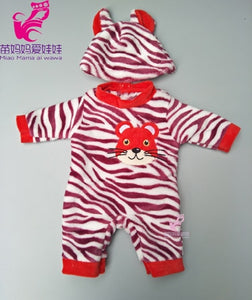 Cute Zapf Baby Born Cartoon Clothes Set For Kids