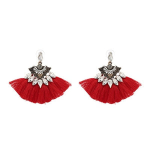 Juran New Fashion Tassel Long Earring For Women