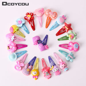 Mix Color Barrette Cute Handmade Baby Hair Clip