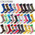 New Casual Combed Cotton Men's Socks Tend Harajuku Street Hip Hop Funny Happy Socks Colorful Avocado Pattern Long Socks For Men