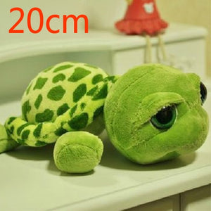 Army Green Big Eyes Turtle Plush Toy
