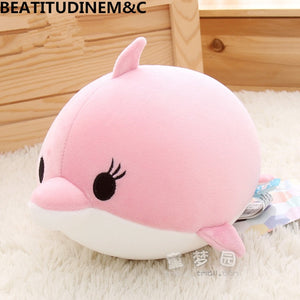 Cute Dolphin, Seals, Walruses, Killer Whales, Whale Sharks Plush Toys, Ocean Alliance Foam Particles Children Doll Dolls