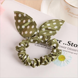 Wonderful Rabbit Ears Elastic Hair Band For Girls