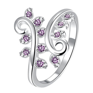Silver Plated Fashion Ring for Women