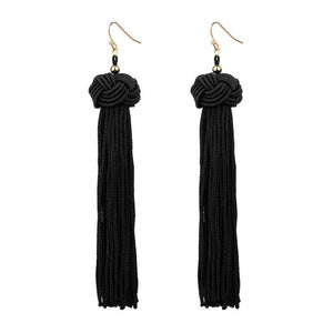 Trendy Crazy Women's Feng Handmade Tassel Earrings