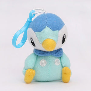 Pokemon Plush Pikachu Bulbasaur Charmander Piplup Squirtle Eevee Mew Stuffed Animals Small Pendant Pokemon Toys