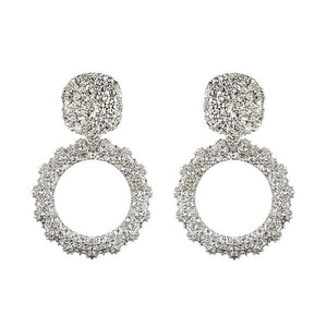 Big Vintage Fashionable Earrings For women
