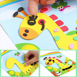 EVA Foam Sticker Puzzle Game Learning Education Toys For Children 3D