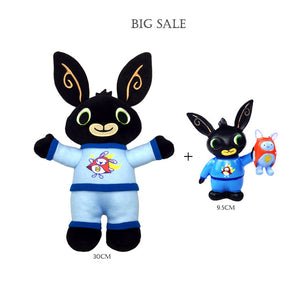 Genuine Bing Bunny Plush toy sula flop Hoppity Voosh pando bing coco plush doll peluche toys children birthday Christmas gifts