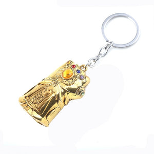 RJ The Avengers 4 Thor Hammer Metal Keychains The Dark World Weapon Iron Man Keyring For Women Movie Fans Jewelry Accessories