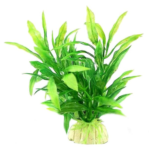 1Pcs Plastic Grass Artificial Water Plant For Fish Tank Aquarium Ornament Decoration - Decorations