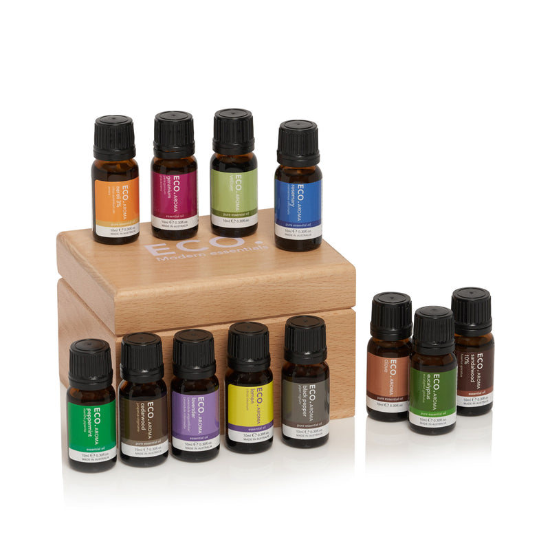 ECO Aromatherapist Essentials Box Included Essential Oils