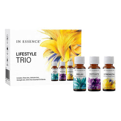 In Essence Lifestyle Essential Oil Blends Trio 8ml