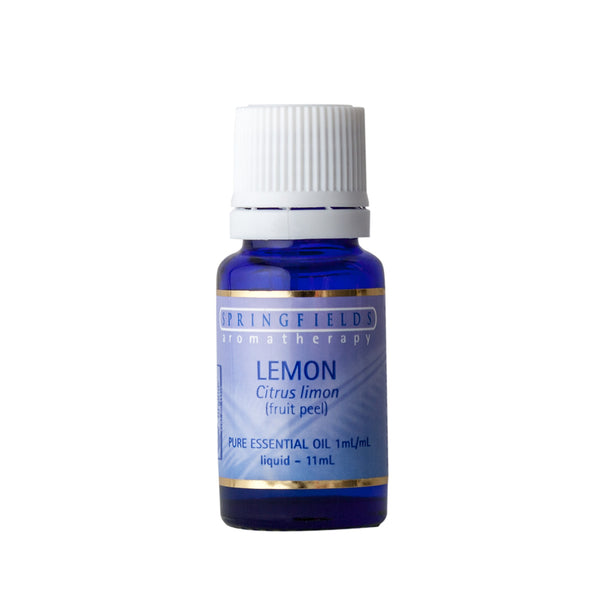 Springfields Lemon Pure Essential OIl 11ml