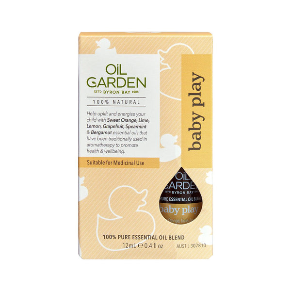 Oil Garden Baby Protect Pure Essential Oil Blend 12ml Carton