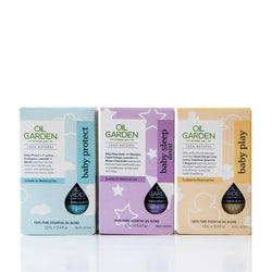Oil Garden Baby Essentials Trio Carton Packaging