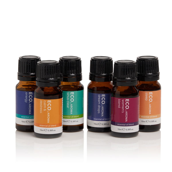 ECO Best-selling Blends Collection 6 Pack Pure Essential Oils 10ml