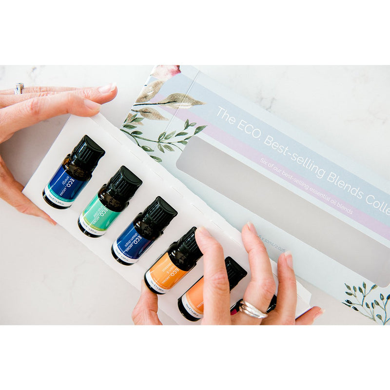 ECO Best-selling Essential Oil Blends Collection 6 Pack Display