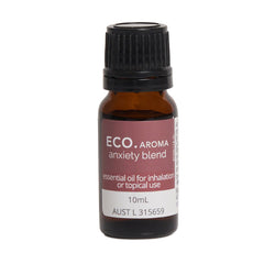Eco Aroma Anxiety Essential Oil Blend 10mL