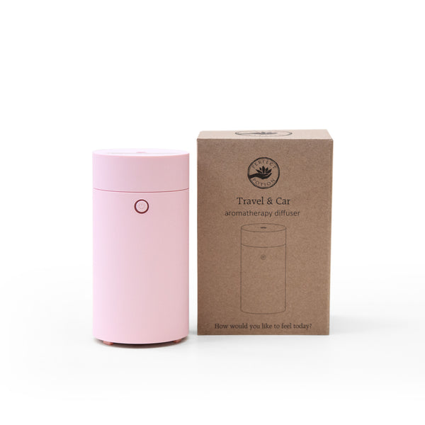 Travel + Car Aroma Diffuser - Pink