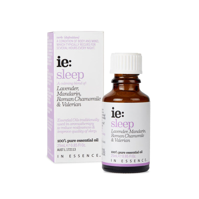 In Essence Sleep Pure Essential OIl Blend 25ml with carton