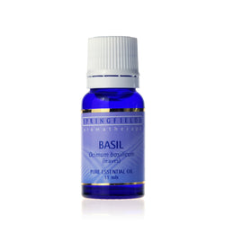 Springfields Basil Pure Essential Oil 11ml