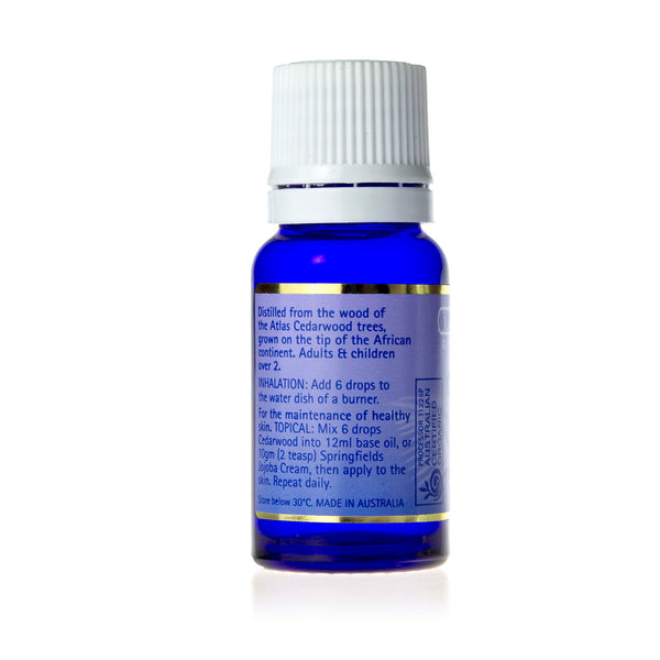 Cedarwood 11mL- Certified Organic