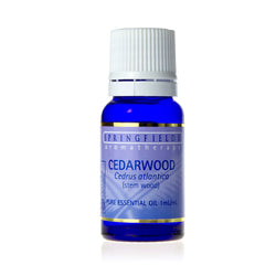 Springfields Cedarwood Pure Essential Oil 11ml