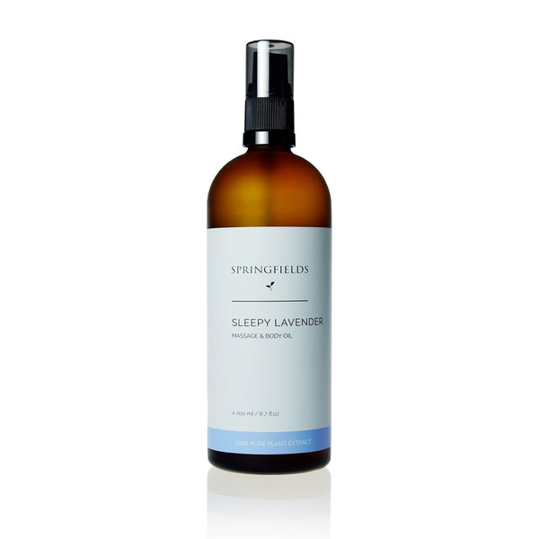 Sleepy Lavender Massage & Body Oil 200mL